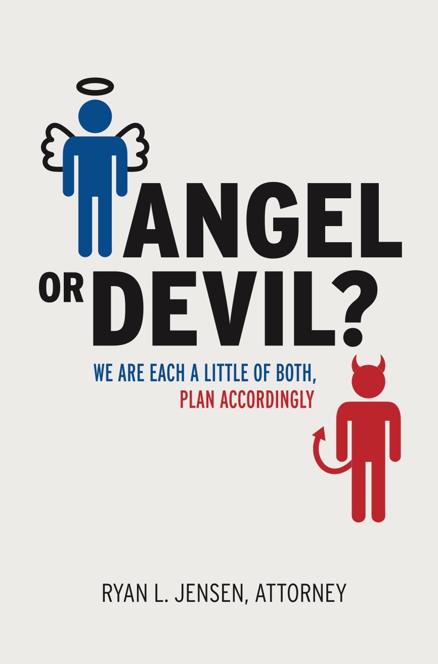 Angel or Devil?  New book will soon be available