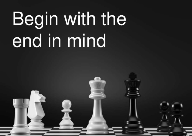 begin with the end in mind–Covey's wise counsel applies in business arrangements