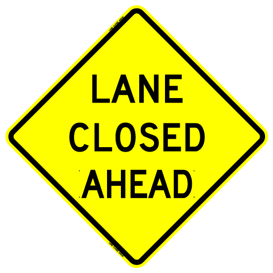 lane closed ahead–what our driving may say about us