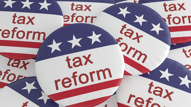 tax reform will be a slow process (no surprise)