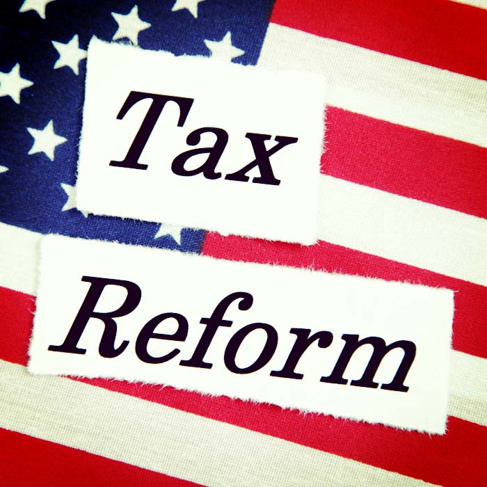 Tax reform update–what is in proposed in The Tax Cuts and Jobs Act?