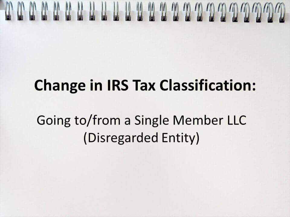 Single Member Llc Tax Stuff Pharoslaw