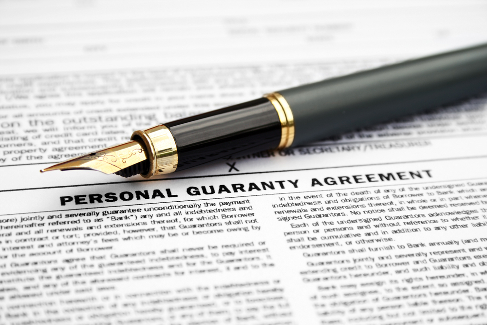 Should I Sign A Personal Guarantee For A Lease Pharoslaw